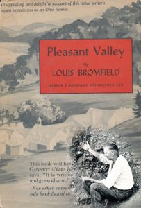 Pleasant Valley by Louis Bromfieldbook cover
