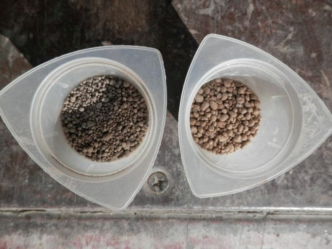 pelletize lime samples