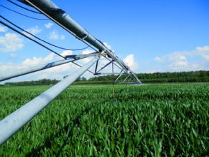 variable rate precision application irrigation boom
