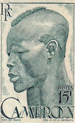 French Cameroon stamp