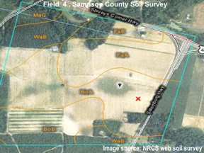 digital soil survey map