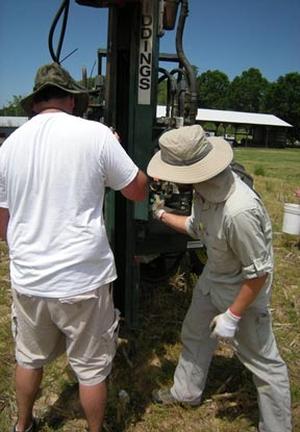 subsurface soil samling Reidsville tillage plots
