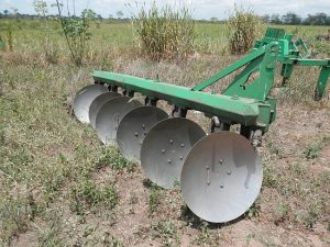 6-disk plow CVL Ghana